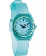Nixon A425-1785 Ladies Small Time Teller P Translucent Mint Watch