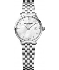 Raymond Weil 5988-ST-97081 Ladies Toccata Silver Steel Diamond Watch