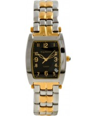 Krug Baümen 1965KM-T Mens Tuxedo Black Gold Silver Watch