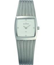 Skagen 380XSSS1 Ladies Klassik Silver Steel Mesh Watch