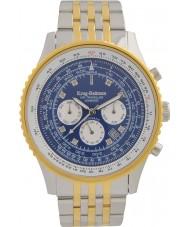 Krug-Baumen 600804DSA Mens Air Traveller Diamond Automatic Watch