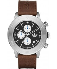 Adidas ADH3097 Mens Manchester Brown Leather Strap Watch