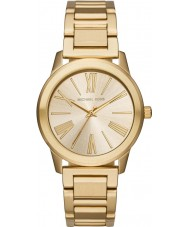 Michael Kors MK3490 Ladies Hartman Gold Steel Bracelet Watch