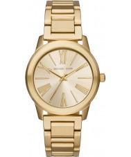 Michael Kors MK3490 Ladies Hartman Gold Steel Bracelet Watch
