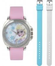 Frozen FZN3637 Girls Elsa Pink Watch with Interchangeable Strap