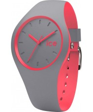 Ice-Watch DUO.DCO.U.S.16 Ice Duo Grey Silicone Strap Watch