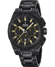 Festina F16969-3 Mens Chrono Bike Black Steel Chronograph Watch