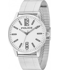 Police 14765JS-04M Mens Esquire Silver Steel Bracelet Watch