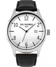 Ben Sherman WB053WB Mens Black Leather Strap Watch
