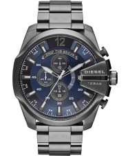 Diesel DZ4329 Mens Mega Chief Gunmetal Steel Chronograph Watch