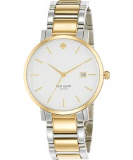 Kate Spade New York 1YRU0108 Ladies Gramercy Grand Two Tone Steel Bracelet Watch