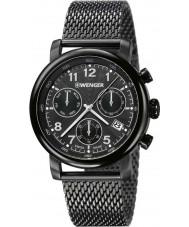 Wenger 01-1043-108 Mens Urban Classic Gunmetal IP Chronograph Watch