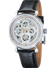 Edward East EDW6384G32 Mens Classic Black Leather Strap Automatic Watch