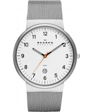 Skagen SKW6025 Mens Klassik White and Silver Watch