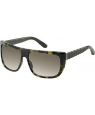 Marc by Marc Jacobs MMJ 328-S YQ7 HA Green Tortoiseshell Sunglasses
