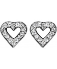 Dyrberg Kern 336722 Ladies Acora Silver Plated Ear Post Earrings