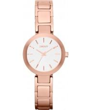 DKNY NY2400 Ladies Stanhope Rose Gold Steel Bracelet Watch