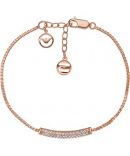 Emporio Armani EG3260221 Ladies Stelle Pure Pave Rose Gold Sterling Silver Bracelet