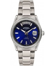 Rotary GB02660-05 Mens Timepieces Havana Blue Silver Watch