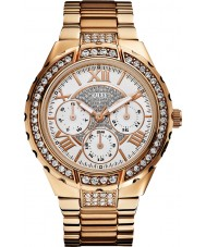 Guess W0111L3 Ladies Viva Rose Gold Plated Bracelet Watch