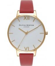 Olivia Burton OB15BDW01 Ladies White Dial Watch
