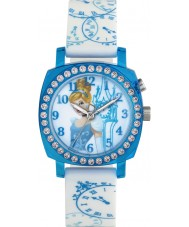 Disney Princess PN1409 Girls Princess Cinderella Flashing Watch with Two Tone Silicone Strap