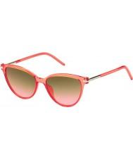 Marc Jacobs Ladies MARC 47-S TOT FX Coral Sunglasses