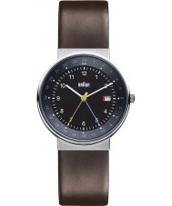 Braun BN0142BKBRG Mens Black Brown Watch