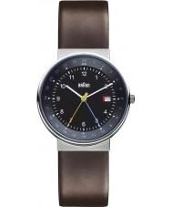 Braun BN0142BKBRG Mens Black Brown Watch