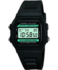 Casio W-86-1VQES Mens Digital Display Resin Strap Watch