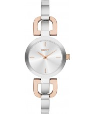 DKNY NY2137 Ladies Reade Two Tone Steel Bangle Watch