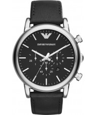 Emporio Armani AR1828 Mens Classic Chronograph Black Watch