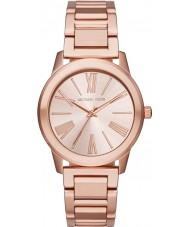Michael Kors MK3491 Ladies Hartman Rose Gold Steel Bracelet Watch
