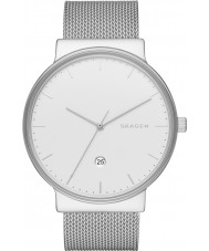 Skagen SKW6290 Mens Ancher Silver Steel Mesh Watch