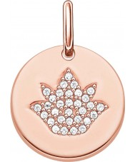 Thomas Sabo LBPE0006-416-14 Ladies Love Bridge 18ct Rose Gold Plated Pendant