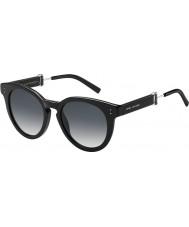 Marc Jacobs Ladies MARC 129-S 807 9O Black Sunglasses
