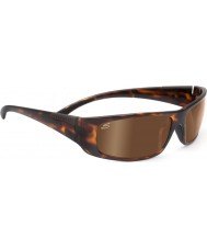 Serengeti Fasano Dark Tortoiseshell Polarized PhD Drivers Gold Sunglasses