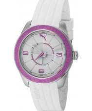 Puma PU102972003 Motorsport Slice White Purple Watch