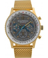 Krug-Baumen 412109DS Mens Air Traveller Diamond Watch