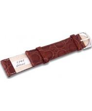 Krug Baümen CP49BrownG Turtle Brown Leather Replacement Mens Principle Strap