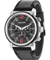 Police 14378JSTB-02 Mens Armor Black Chronograph Watch