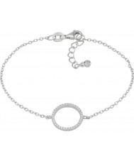 FROST by NOA Ladies Silver Bracelet With Cz