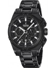 Festina F16969-1 Mens Chrono Bike Black Steel Chronograph Watch