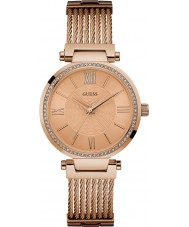 Guess W0638L4 Ladies Soho Rose Gold Plated Bracelet Watch