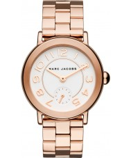 Marc Jacobs MJ3471 Ladies Riley Rose Gold Plated Bracelet Watch