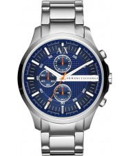 Armani Exchange AX2155 Mens Dress Silver Chronograph Watch