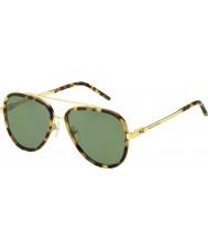 Marc Jacobs Mens MARC 136-S LSH DJ Spotted Havana Gold Sunglasses