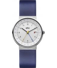 Braun BN0142WHBLG Mens White Blue Watch