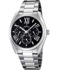 Festina F16750-2 Silver Steel Bracelet Multifunction Watch