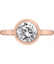 Emozioni Ladies Riflessi Rose Gold Plated Ring